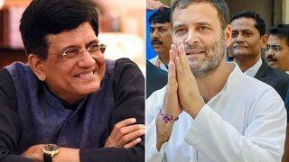 Piyush Goyal to be Leader of House in Rajya Sabha, Rahul Gandhi May Lead Congress in LS: Report