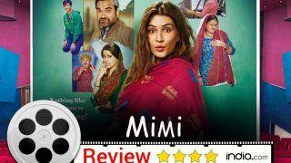 Mimi Film Review: Kriti Sanon-Pankaj Tripathi Starrer Will Leave You Teary-Eyed But With a Smile