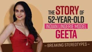 The story of 52-year-old Indian Lingerie Model, Geeta J; Breaking Stereotypes