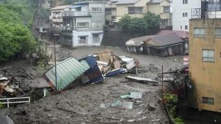Powerful Mudslide Sweeps Away Row of Houses in Japan's Atami, Terrifying Video Goes Viral | Watch