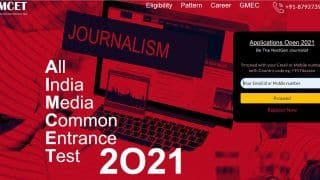 AIMCET 2021: First All India Media Common Entrance Test to be Held Online on THIS Date