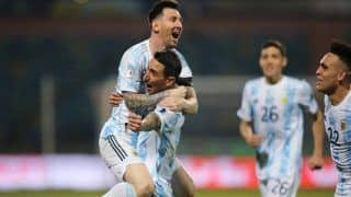 Angel Di Maria REVEALS What Lionel Messi Said to Him After Argentina Beat Brazil to Win Copa America 2021