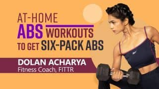 Want To Have Six-Pack Abs? Try These At-Home Abs Workouts Demonstrated by Fitness Expert Dolan Acharya