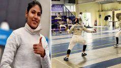 Tokyo Olympic 2020: तलवारबाजी से भारत का ओलंपिक में शानदार आगाज, Bhavani Devi ने दर्ज की एकतरफा जीत