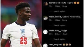 Bukayo Saka Finds Support After Getting Racially Abused For Missing Penalty vs Italy in EURO 2020 Final