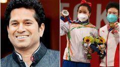 Tokyo Olympics 2020: Mirabai Chanu ने ओलंपिक मेडल जीतकर रचा इतिहास, Sachin Tendulkar का ट्वीट- आपने भारत को गौरवान्वित किया