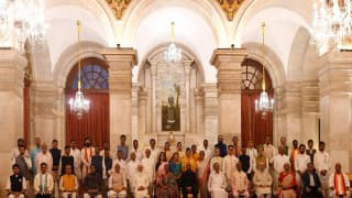 PM Modi Gets New Cabinet: 15 Including Jyotiraditya Scindia Take Oath As Union Ministers, Others As MoS
