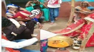 Sharmila Dulha: दुल्हन को देखकर शर्म से लाल हुआ दूल्हा, लोग बोले- भाई इसे लग गया इश्क का रोग...