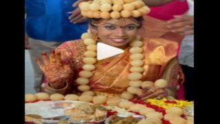 Dulhan Golgappe Wali: दुल्हन ने पहनी गोलगप्पों की माला और ताज, प्यार जताने को दूल्हे ने खिलाए गोलगप्पे | देखें Viral Video
