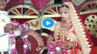Dulhe Ka Badla: दुल्हन ने गले में फेंककर मारी वरमाला, तो दूल्हे ने ऐसे लिया बदला, देखें Video