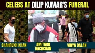 Dilip Kumar's Funeral: Amitabh Bachchan to Shah Rukh Khan, Celebs Who Attended Legendary Actor's Funeral