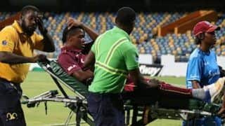 Two West Indies Players - Chinelle Henry, Chedean Nation Collapse on Field During 2nd T20I Against Pakistan Women | WATCH VIDEO
