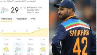 Colombo Weather Forecast For 1st ODI: Rain Likely to Play Spoilsport