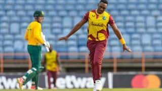 Dwayne Bravo Bags 4 As West Indies Level T20I Series vs South Africa