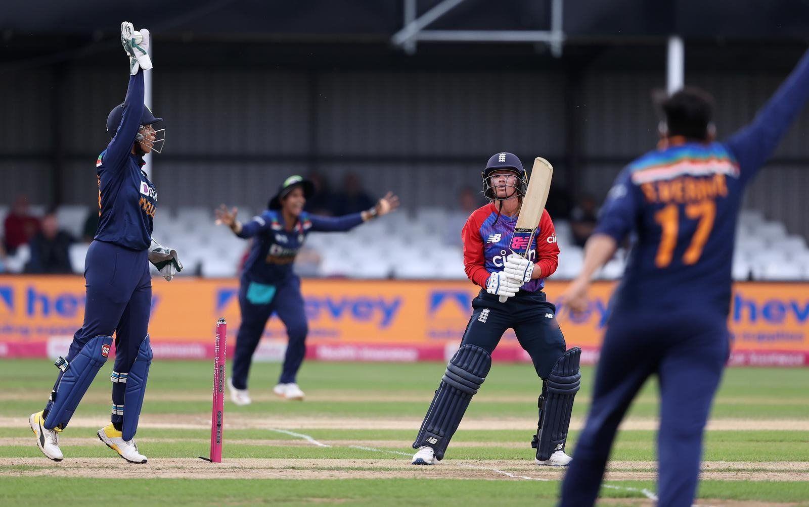 Match Highlights India Women vs England Women, 2nd T20I: IND W Beat ENG W  By 8 Runs, Level Series 1-1