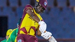WI vs AUS, 5th T20I: Evin Lewis ने खेली तूफानी पारी, वेस्टइंडीज ने 4-1 से जीती सीरीज