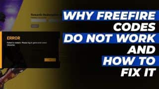 Are Your Free Fire Codes Not Working? Here's The Reason To It & How You Can Fix It | Explainer Video