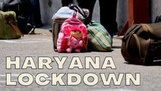 Haryana Extends Covid Lockdown by Another Week With Further Relaxations. Check Details Here