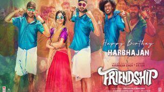 Video: Harbhajan Singh To Star in 'Friendship', Film Announced on His Birthday