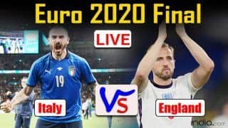 Italy vs England Match Highlights Updates EURO 2020 Final: Bonucci, Donnarumma Shine as Italy Beat England on Penalties to Lift Euro Cup