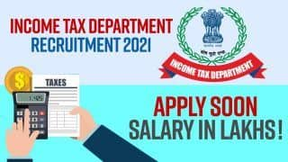 Income Tax Department Recruitment 2021: Get Job Without Giving Exam, Watch Video to Know How
