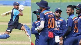 IND vs SL: प्रैक्टिस मैच में चौके-छक्के बरसाते दिखी युवा टीम इंडिया, देखें VIDEO