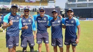 SL vs IND 2021: Team India Hands Debut Caps to Five Players, First Time After 41 Years