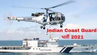 Indian Coast Guard Recruitment 2021: Admit Cards Released on Official Website, Exam On Oct 26 | Details Here