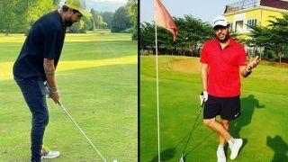 Ishant Sharma के गोल्फ खेलने पर Yuvraj Singh ने यूं लिए मजे, बोले- लंबू जी...