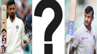 Mayank Agarwal या KL Rahul, वसीम जाफर ने बताया Shubman Gill के बदले किस खिलाड़ी को मिले स्थान?