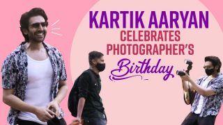 Spotted Kartik Aaryan: Kartik Won Hearts For His Sweet Gesture | Celebrates Photographer's Birthday And More