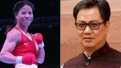 महज एक प्वाइंट से पदक से चूकी Mary Kom, किरन रिरिजू बोले- मेरे लिए आप हमेशा चैंपियन रहोगी
