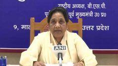 UP Assembly Polls: मायावती की BSP यूपी में अकेले चुनाव लड़ेगी, किसी भी पार्टी संग गठबंधन से इनकार