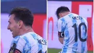 VIDEO: Lionel Messi Gets Emotional, Bursts Into Tears After Argentina Beat Brazil to Lift Copa America 2021