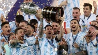 Lionel Messi Greets His 100-Year-Old Superfan After Copa America Win