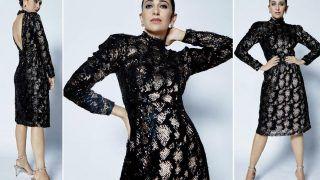 Karisma Kapoor Looks Splendid in Rs 9,990 Animal Print Sequin Dress