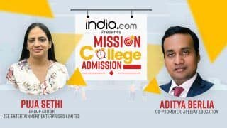 Mission College Admission: A Step Towards Making Your Admissions Trouble-Free | Puja Sethi In Conversation With Aditya Berlia