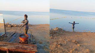 समंदर किनारे मोनोकिनी पहन Mud Bath ले रही हैं बबिता जी, दिखा एक्ट्रेस का बोल्ड और ग्लैमरस अंदाज