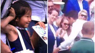 WATCH: Novak Djokovic Gifts Match Racket to Girl Fan After Wimbledon 2021 Win, Video Goes Viral
