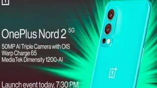 OnePlus Nord 2 आज भारत में होगा लॉन्च, जानें संभावित कीमत और स्पेसिफिकेशन्स