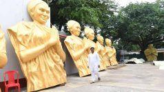 UP:प्रशासन ने नहीं लगने दी फूलन देवी की प्रतिमा, बिहार के मंत्री वाराणसी एयरपोर्ट से ही वापस लौटाया