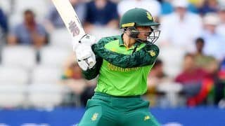 West Indies vs South Africa, 5th T20I: Quinton de Kock ने बनाया वर्ल्ड रिकॉर्ड, Kumar Sangakkara को छोड़ा पीछे