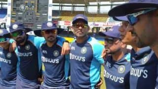 India vs sri lanka 1st odi rahul dravid speech during suryakumar yadav ishan kishan debut 4824360