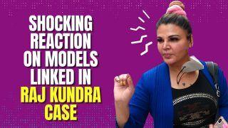 Shocking ! Rakhi Sawant's Reaction on Models Linked With Raj Kundra's Case| Watch Video