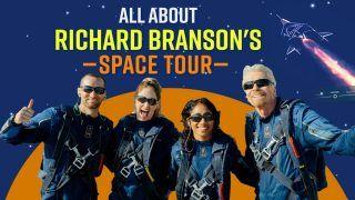 All About Richard Branson's Virgin Galactic Space Flight Tour With India-Born Sirisha Bandla