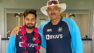 IND vs ENG 2021: Rishabh Pant Thanks Coach Ravi Shastri For Grand Welcome After Joining Team India, Quotes Shah Rukh Khan's Famous Dialogue
