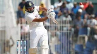 India vs county select xi live scorecard lunch report live rohit sharma out after playing careless shot watch video 4829247