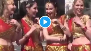 Viral Video: Russian Girls Perform Bhangra on Punjabi Song, Perfect Moves Leaves People Impressed | Watch