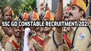SSC GD Constable Recruitment 2021: 2847 Vacancies For Women Candidates in Various Posts. Eligibility, Other Details Here | Apply Now