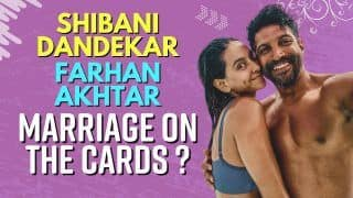 Exclusive! Shibani Dandekar Reveals About Her Wedding Plans With Farhan Akhtar   Watch Now